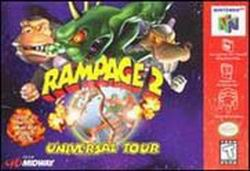 Rampage 2 - Universal Tour (USA) Box Scan